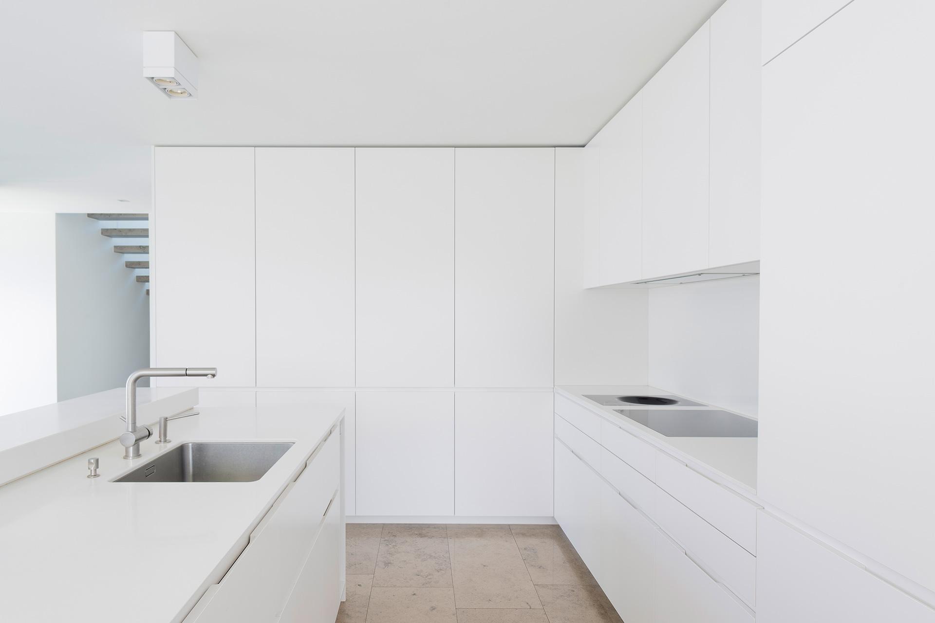 Pfister Klingenfuss Architekten, Haus H, Mörschwil, Küche