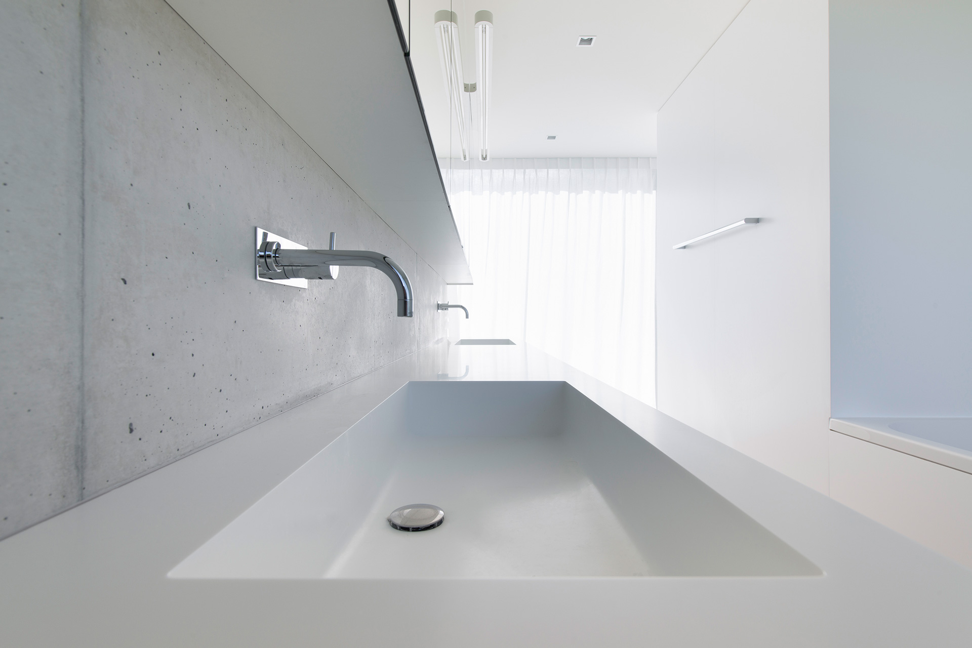 Pfister Klingenfuss Architekten, Haus H, Mörschwil, Bad