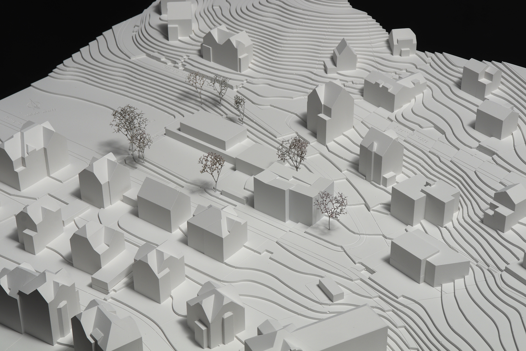 Pfister Klingenfuss Architekten AG, Wettbewerb, Tagesbetreuung Hebel, Modell 1
