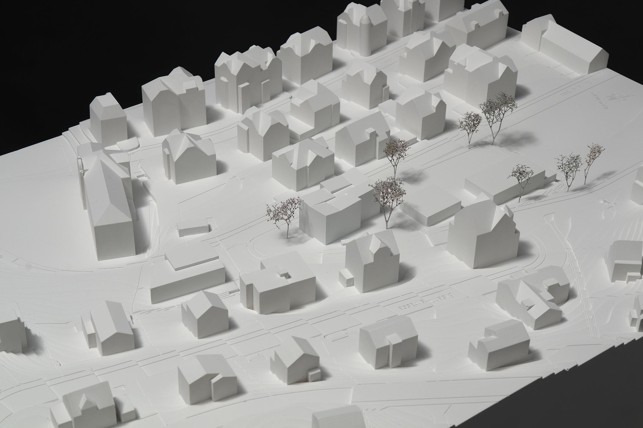 Pfister Klingenfuss Architekten AG, Wettbewerb, Tagesbetreuung Hebel, Modell 2