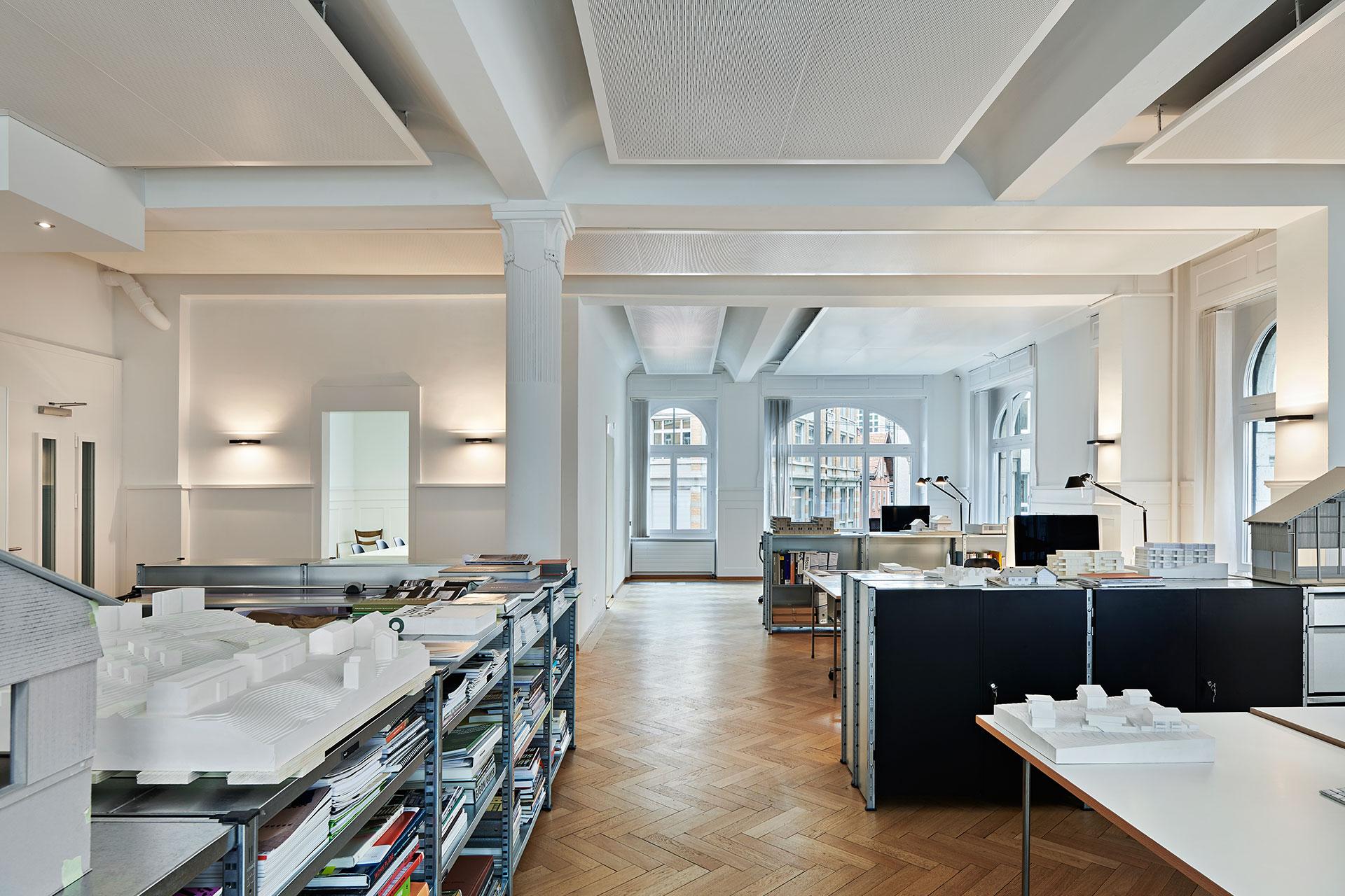 Pfister Klingenfuss Architekten, Kontakt, St.Gallen, Büro Innenansicht