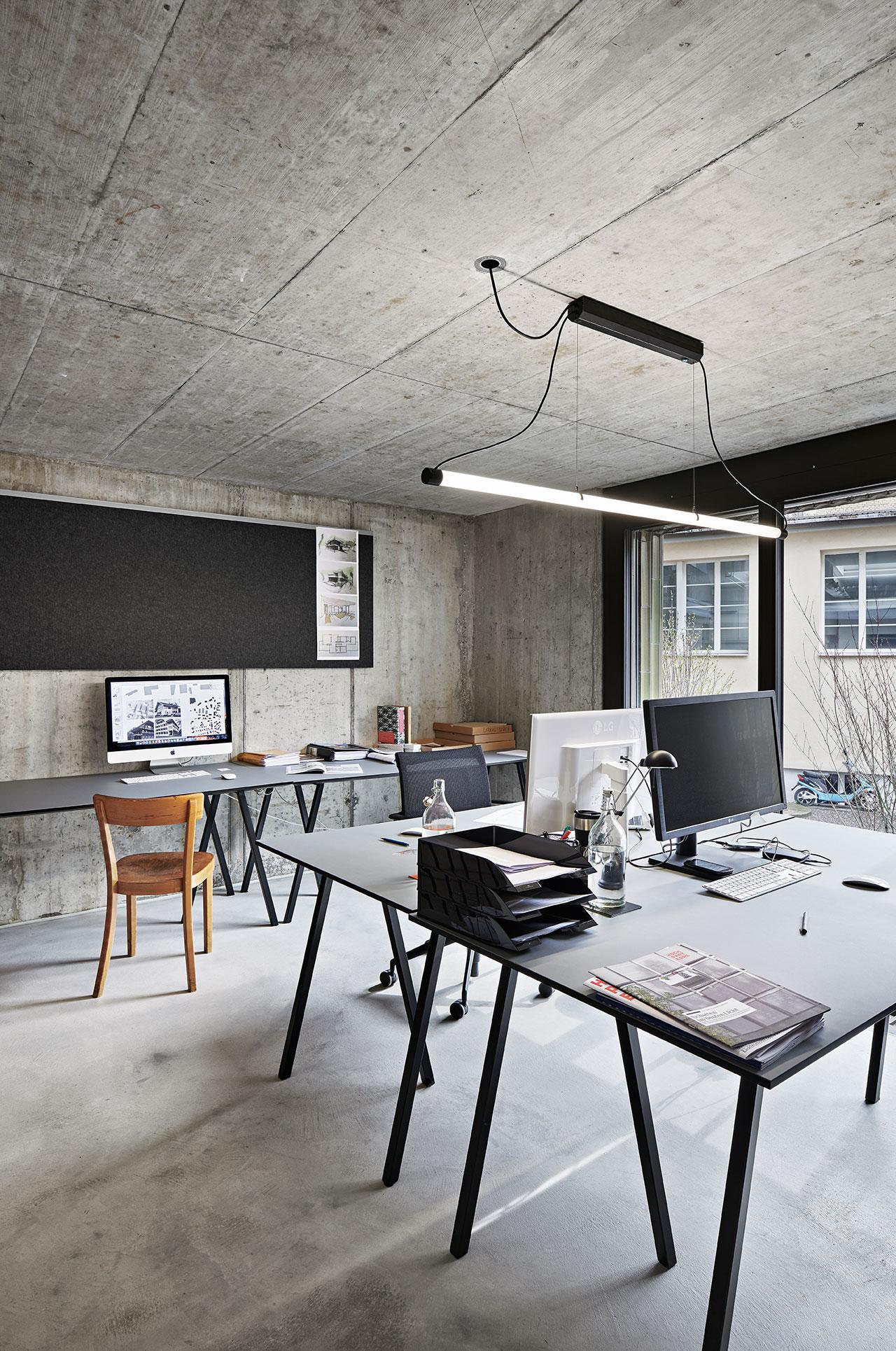 Pfister Klingenfuss Architekten, Kontakt, Zürich, Büro Innenansicht